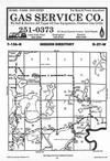 Map Image 068, Crow Wing County 1987 Published by Farm and Home Publishers, LTD